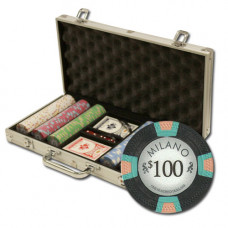 "Poker Set ""Milano"" 300  (25-5000)"