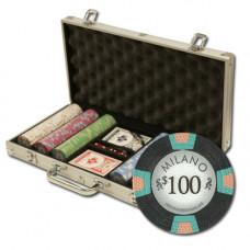"""Poker Set """"Milano"""" 300  (25-1000)"""
